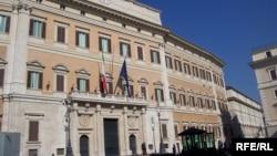 Clădirea parlamentului italian