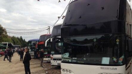 Autobusi u Preševu, ilustrativna fotografija