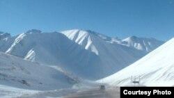 Дорога Бишкек-Ош. Иллюстративное фото.