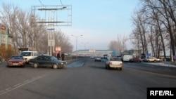 Трасса Алматы – Бишкек, архивное фото.
