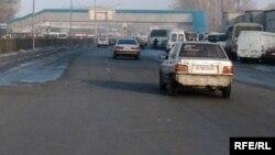 Автодорога международного значения Алматы - Бишкек.
