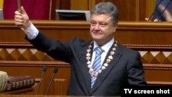 Украина президенті Петр Порошенко. Киев, 7 маусым 2014 жыл.