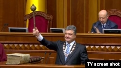 Ukraine -- Petro Poroshenko becomes President of Ukraine, 7Jun2014