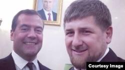 Селфи из Инстаграма Кадырова