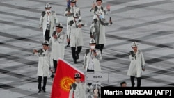 Кыргызстандын делегациясы.