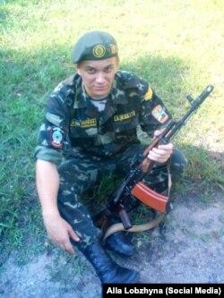 Олександр Лобжин. Загинув під Іловайськом у серпні 2014 року