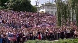 Трамп закликав Росію припинити дестабілізацію в Україні, а союзників готуватися до нових викликів (відео)