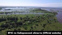 Подтопление в Хабаровском крае