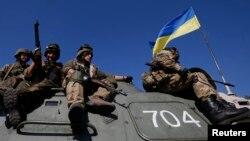 Українські військовослужбовці, вересень 2014