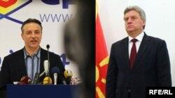 Бранко Црвенковски и Ѓорѓе Иванов - Комбо фотографија