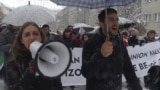 grab: kosovo student protest