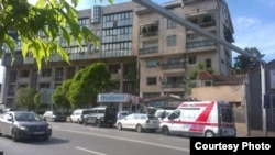 Капиштец, зградата во која беше пронајдено мртвото тело на Коста Крпач.