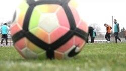 Луганська «Зоря» провела відкрите тренування у Запоріжжі (відео)