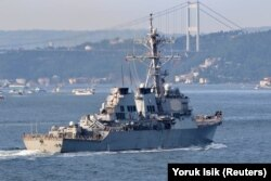 До навчань Sea Breeze залучено американський ракетний есмінець USS Ross