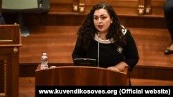 Kryetarja e Kuvendit të Kosovës, Vjosa Osmani