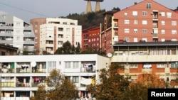 Pamje nga pjesa veriore e Mitrovicës