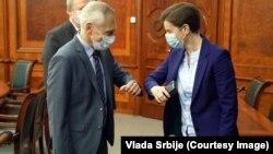 Premijerka Srbije Ana Brnabić i ruski ambasador Aleksandar Bocan-Harčenko