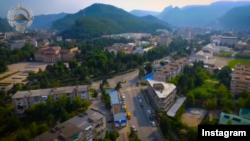 Вид города Карачаевска (скриншот с инстаграма главы КЧР Рашида Темрезова)