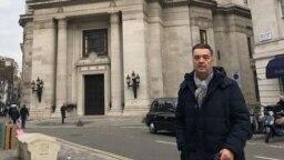 Fotografija Duška Kneževića sa njegovog Instagram profila, London