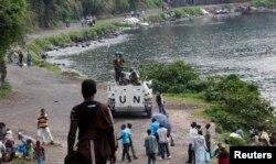 Trupe de pacificatori ONU în Congo, noiembrie 2012