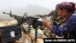 Солдат армии правительства Мансура Хади, сражающейся с хуситами. Юго-запад Йемена, июль 2018 года