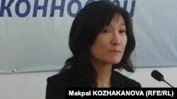 Чизу Мацушита, БҰҰ-ның босқындар ісі жөніндегі бас комиссарының аймақтық кеңесшісі. Алматы, 20 маусым 2016 жыл.