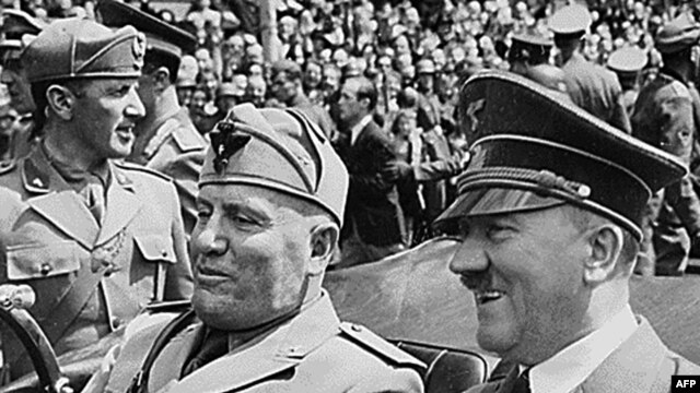 Benito Musolini i Adolf Hitler