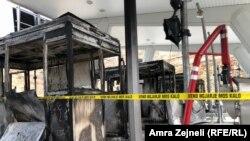 Protestuesit djegin kabinat e pagesës së tarifës