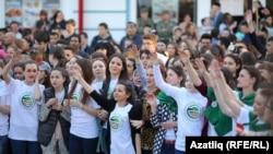 """""""Мин татарча сөйләшәм"""" тамашасы. 26 апрель, 2016"""
