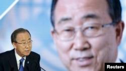 بان کی مون، منشی عمومی سازمان ملل متحد