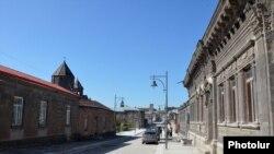 Գյումրիի փողոցներից մեկը, արխիվ
