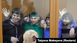Обвиняемые в убийстве Немцова