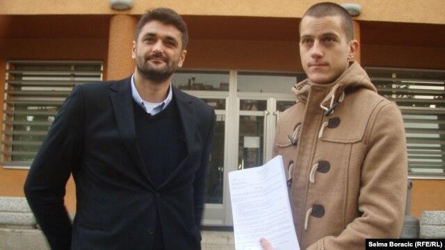 Emir Suljagić i Nedim Jahić
