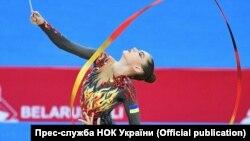 Європейські ігри, художня гімнастка Влада Нікольченко