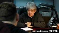 Мэлс Елеусизов, лидер экологического движения «Табигат». Алматы, 20 октября, 2016 года.