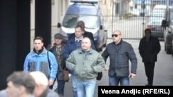 Optuženi pripadnici Žandarmerije dolaze na sud