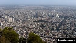 Սիրիայի մայրաքաղաք Դամասկոսի համայնապատկեր, արխիվ