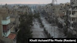 Город Дейр-эз-Зор на востоке Сирии.