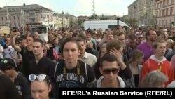 Protestni marš u Moskvi