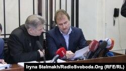 Олександр Попов під час судового засідання у Шевченківському суді, Київ, 23 березня 2015 року