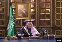 Наступник саудівського трону, двоюрідний брат покійного короля, Салман бін Абдель-Азіз ас-Сауд. Ер-Ріяд, 23 січня 2015 року