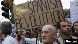 Protesta në Spanjë, foto nga arkivi