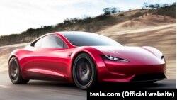 Iамерка —Tesla Roadster машен, 17Лахь2017