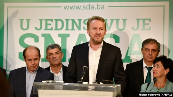 Despite winning every district in Sarajevo, Party of Democratic Action (SDA) leader Bakir Izetbegovic wasn't ready to declare victory.