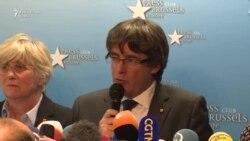 """Carles Puigdemont: """"Este mai bine să explicăm noi lumii întregi ce se întâmplă, așa că am venit în capitala Europei"""""""