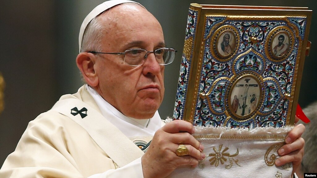 Ուղիղ միացում. Ֆրանցիսկոս քահանայապետի հանդիսապետությամբ Սբ. Պատարագ Գյումրիի Վարդանանց հրապարակում