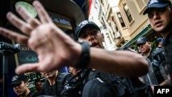 Поліція у Стамбулі раніше цього місяця вже розганяла акцію на підтримку ЛГБТ