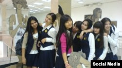 Ташкентские студентки.