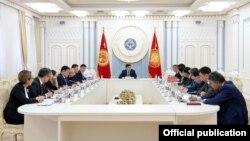 Совещание по подготовке к саммиту ШОС. Бишкек. 11 января 2019 года.