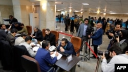 Реєстрація претендентів на кандидування на парламентських виборах в МВС Ірану, Тегеран, грудень 2015 року
